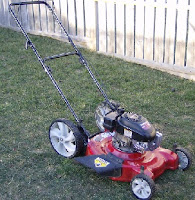 push-type gasoline-powered lawn mower