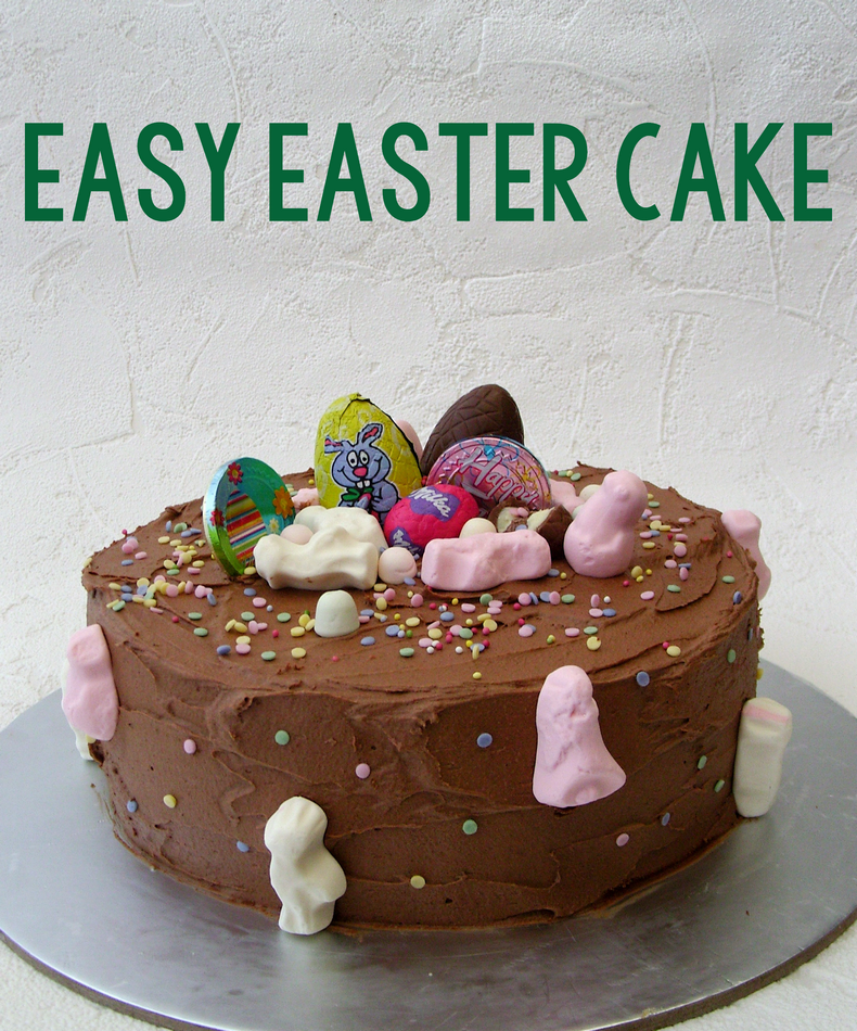 easy cake chocolate buttercream
