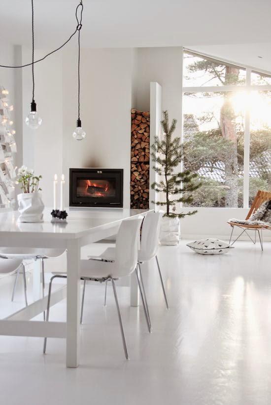 Modern Scandi Christmas interiors