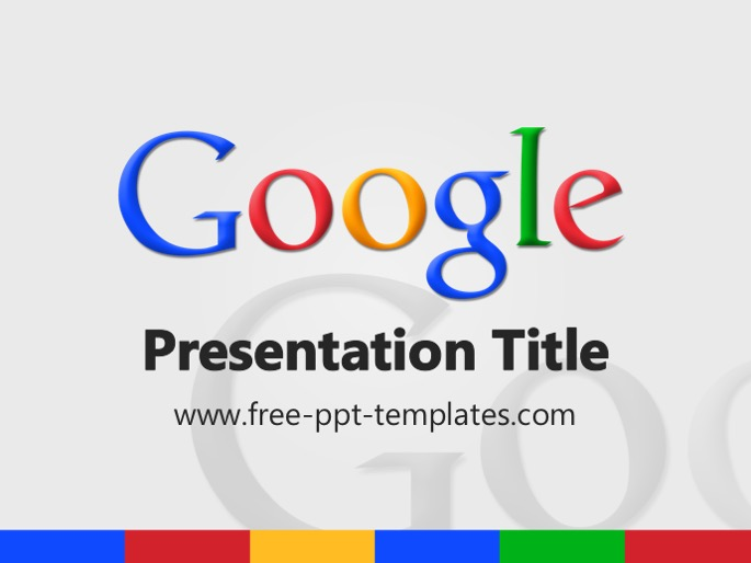 Google PPT Template – Google Powerpoint Template