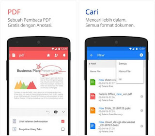 Aplikasi pdf reader terbaik, Polaris office
