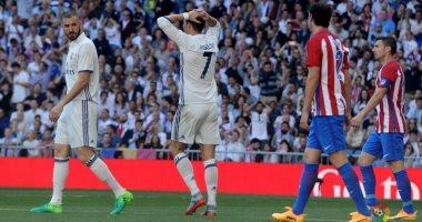 ريال مدريد الملكي يتعادل مع اتليتكو على ارضه فى الدوري الاسباني