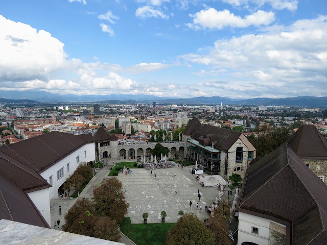 Ljubljana in 3 days: views from the Ljubljana Castle tower