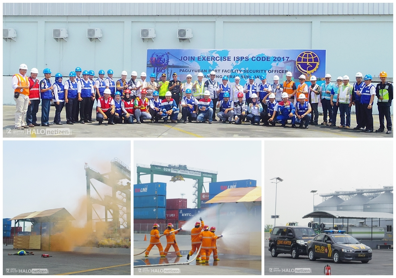 ISPS Code 2017 Terminal Teluk Lamong