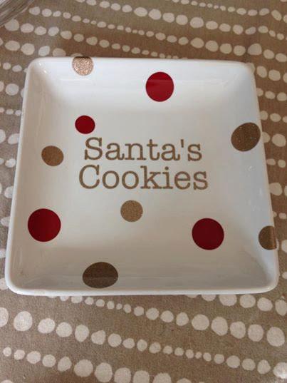 cookie plate, blanks, christmas blanks, vinyl, adhesive vinyl