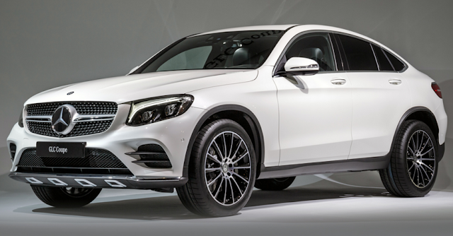 2017 Mercedes AMG GLC43 Coupe Unveiled