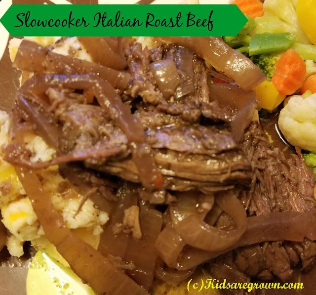 Slowcooker Italian Roast Beef