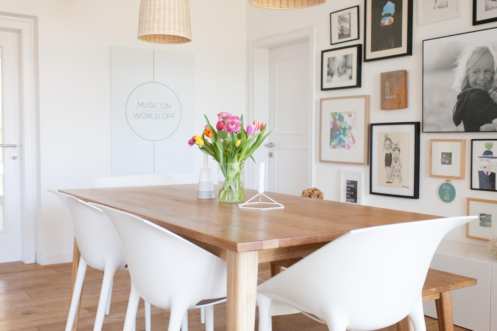 vorher nachher die sommergarderobe f rs esszimmer wohnprojekt wohnblog f r interior diy. Black Bedroom Furniture Sets. Home Design Ideas