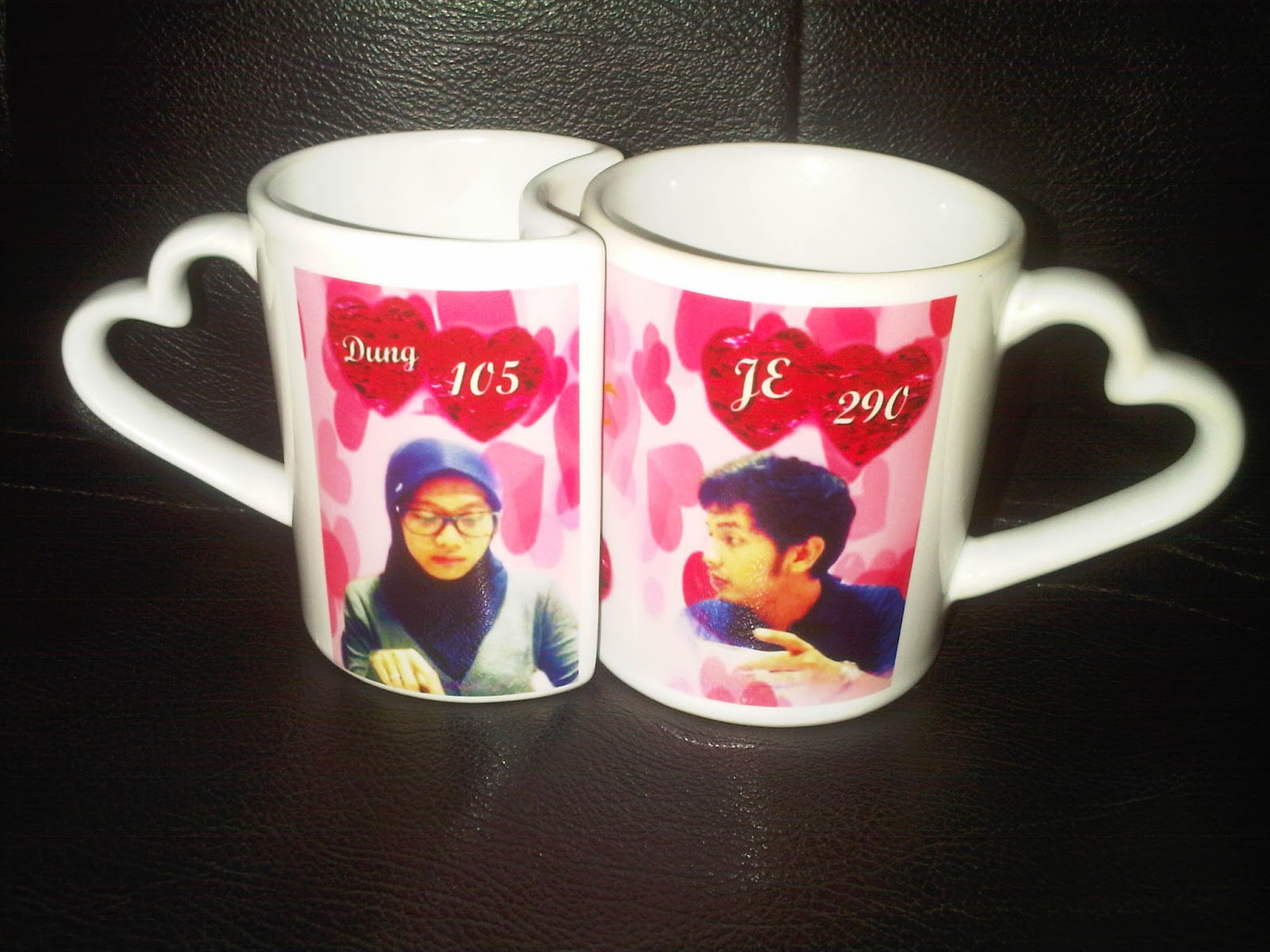 Hadiah romantis Mug Couple