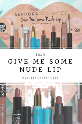BEAUTY | Give Me Some Nude Lip - Sephora favorites. Review and swatches. Includes:Kat Von D, Buxom, Ciaté, tarte and Make Up Forever. Photos with Sony a6000 + SEL35F18. Porty's Diary.