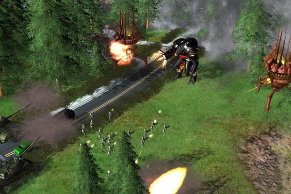 Universe at War Earth Assault PC imagen 003 -