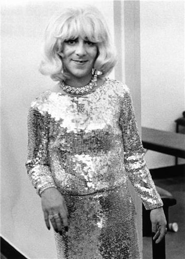 Funny Vintage Photos Of Famous People In Cross Dressing