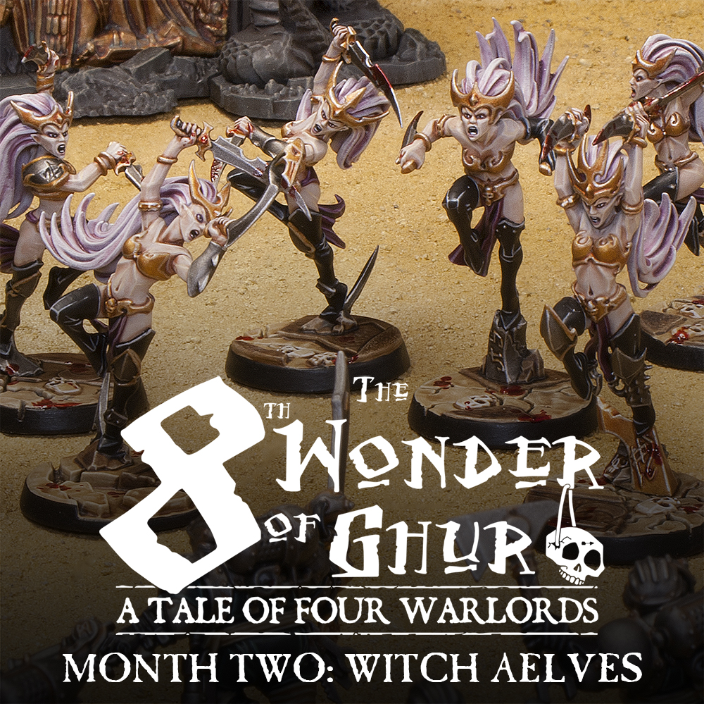Mengel Miniatures: A Tale Of Four Warlords: Witch Aelves