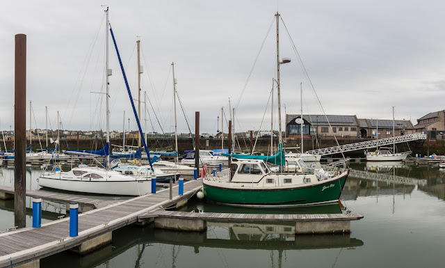 Photo of the marina facilities from Ravensdale