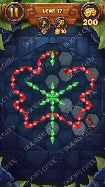 Gems & Magic [Aquamarine] Level 17 Solution, Walkthrough, Cheats