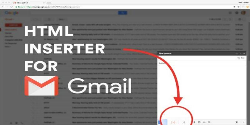 讓 Gmail 能插入 HTML 語法,方便行銷推廣﹍Chrome 套件