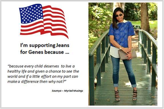 Sydney Fashion Hunter - Fashion Bloggers For Jeans For Genes - Myriad Musings - USA