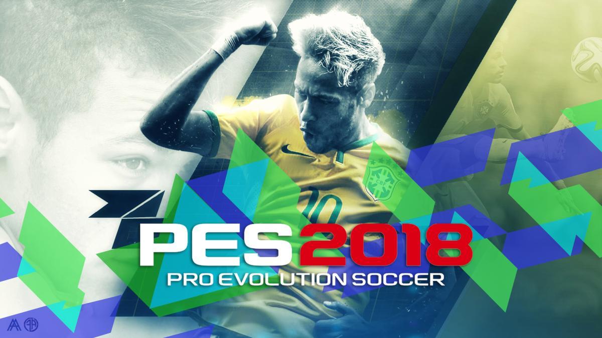 PES 2018 Startscreen Neymar by FarArts
