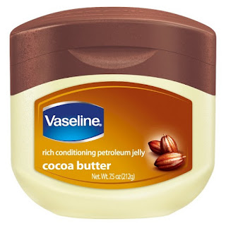 petroleum jelly + cocoa butter