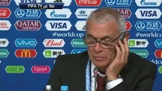 Egypt coach Hector Cuper: We'll try to finish the World Cup in the best manner