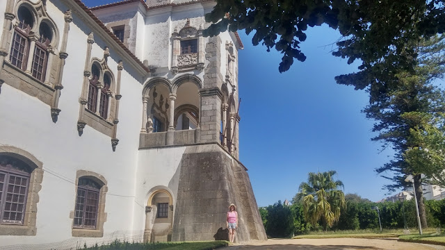 Jardim Público de Évora: Palácio de Dom Manuel