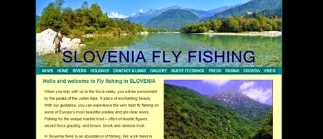 Slovenia Fly Fishing - Tips and Blogs