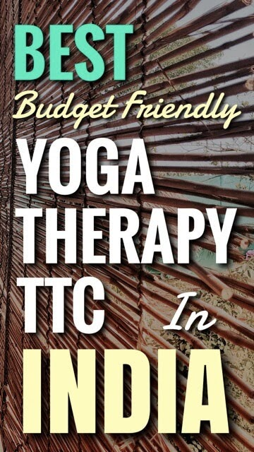 Best Yoga Therapy TTC India