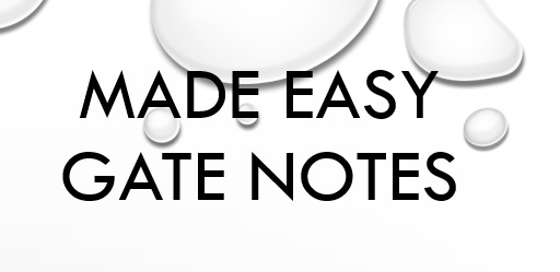 Made Easy Gate Notes