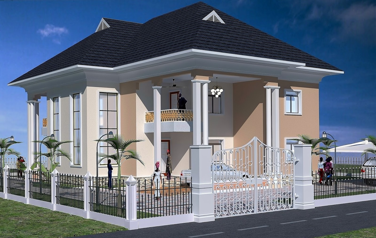 Cost of building a four bedroom autos post for Estimated cost building duplex