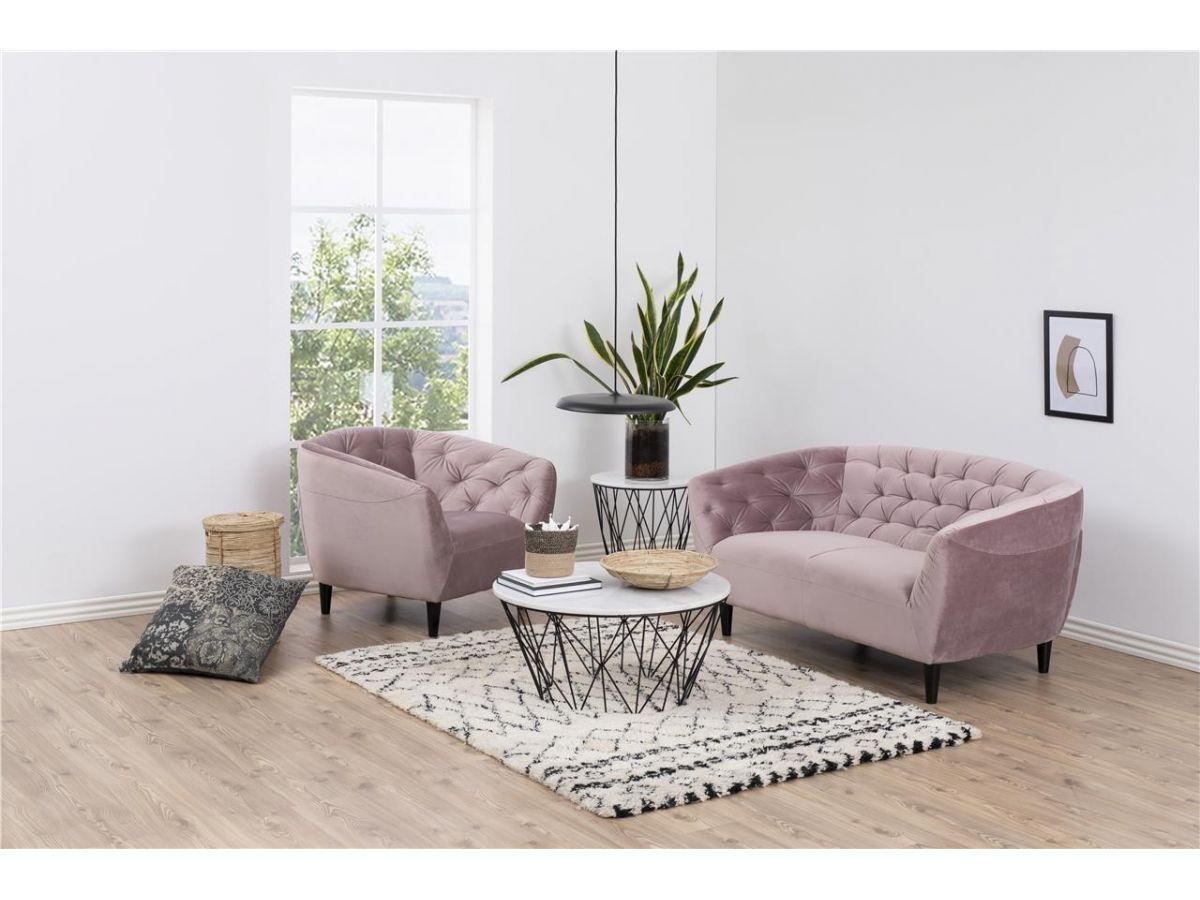 tapicerowane meble zamszowe do salonu