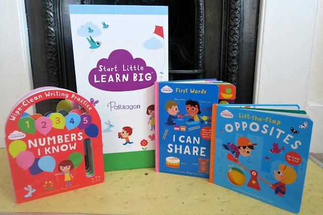 Start Little Learn Big Parragon Books