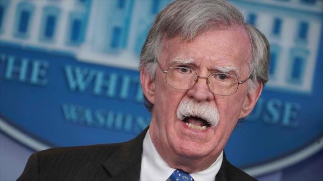 Bolton: EEUU busca una coalición amplia para reemplazar a Maduro