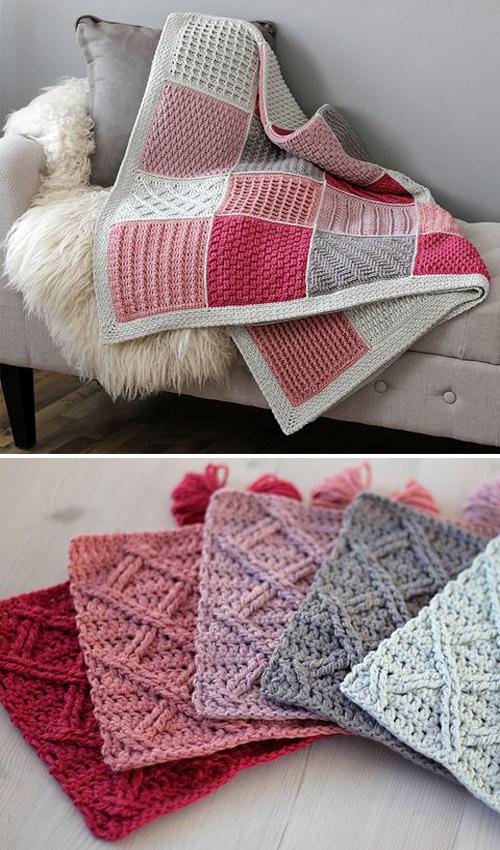 Cosy Afghan Crochet ALong - Free Pattern