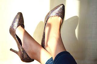Tutorial: personalizar unos zapatos con purpurina