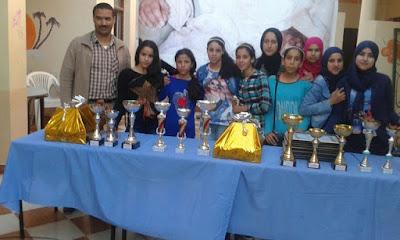 فريق دار الطالبة مولاي بوشتى يتأهل لنهاية البطولة الوطنية الرياضية 43 التي ينظمها التعاون الوطني
