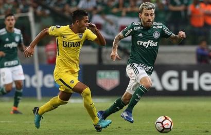 Assistir Jogo Boca Juniors x Palmeiras  ao vivo grátis em HD 25/04/2018