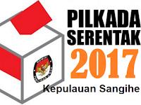 Hasil Hitung Cepat/Quick Count Pilkada/Pilbup Kepulauan Sangihe 2017