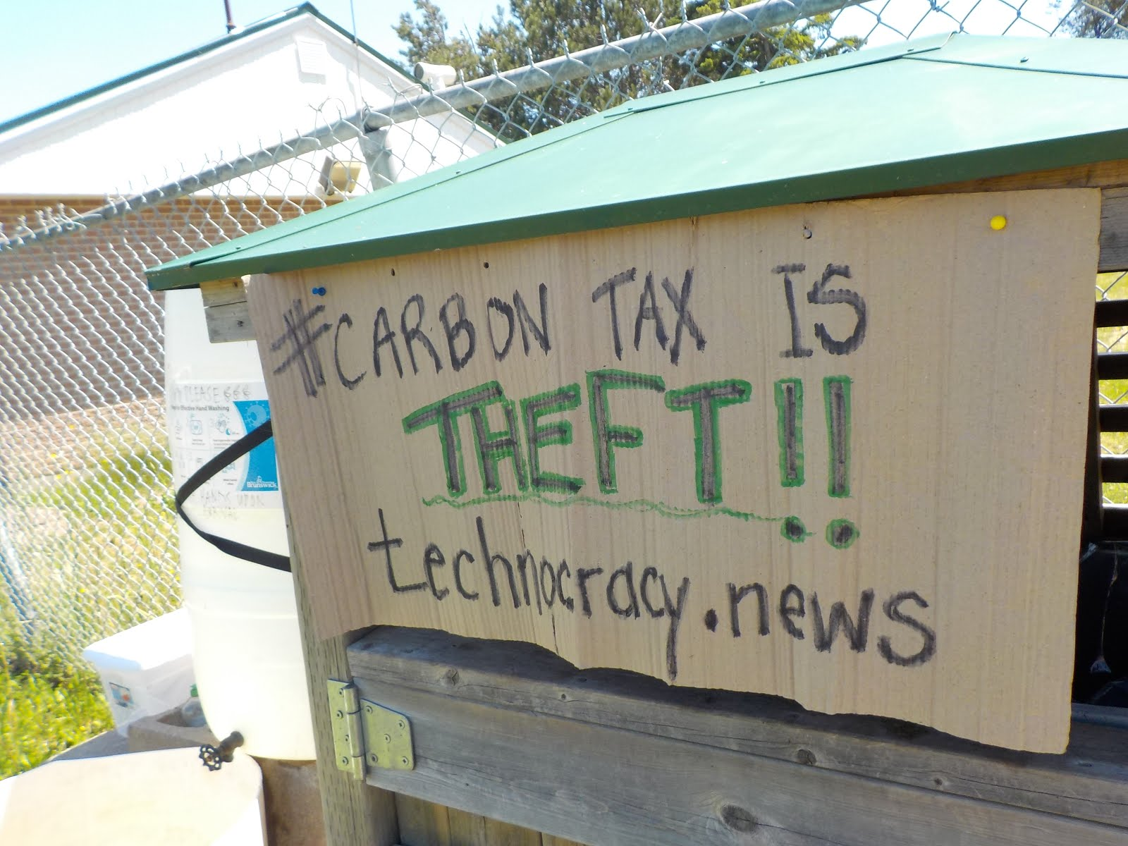 #Carbon Tax is Theft @Technocracy.news