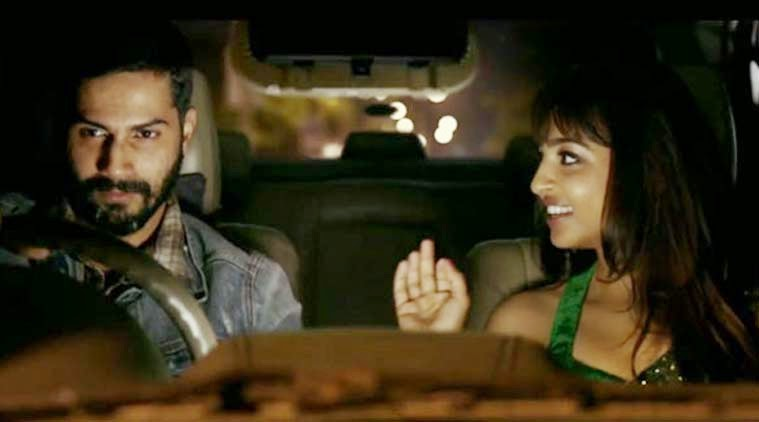Varun Dhawan and Radhika Apte, in Badlapur (2015), Directed by Sriram Raghavan