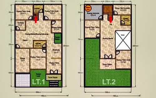 Desain Rumah Type 45 Dengan 2 Lantai Kaskus