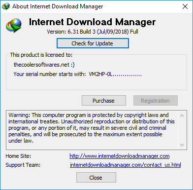 Internet Download Manager IDM 6.31 Build 3 Crack Serial Key Registration Activation Keygen Patch