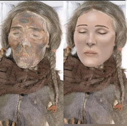 Tall Caucasian Mummies of China (Mongolia)