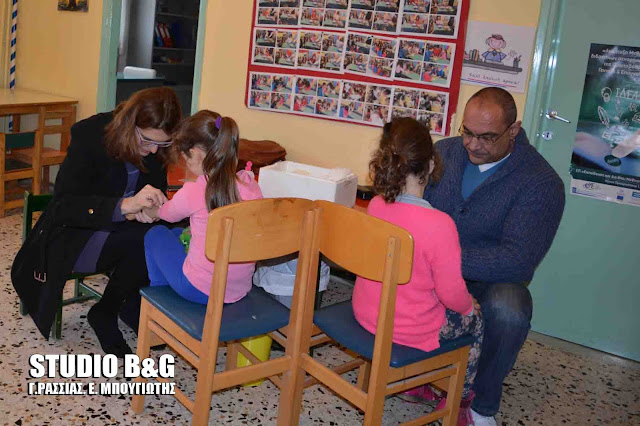 Ολοκληρώθηκε ο προληπτικός έλεγχος με Δερμοαντίδραση Mantoux στα παιδιά των νηπιαγωγείων, από το Δημοτικό Κοινωνικό Ιατρείο Ναυπλίου
