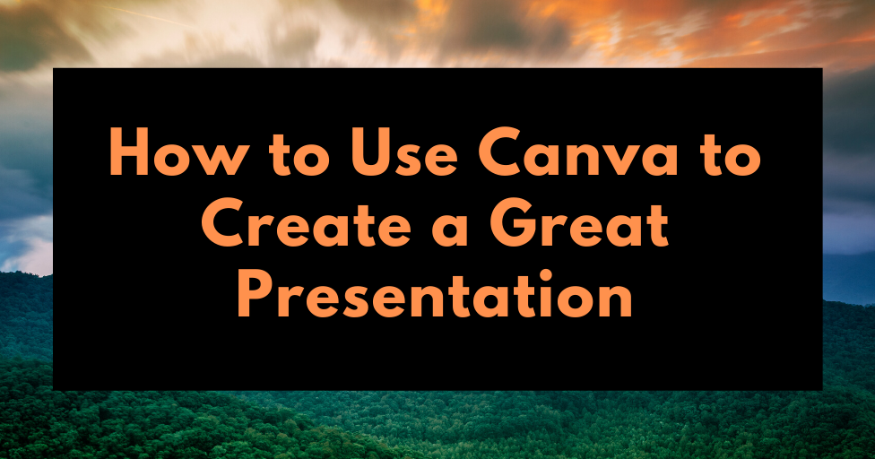 Free Technology for Teachers: How to Create a Great Presentation With Canva