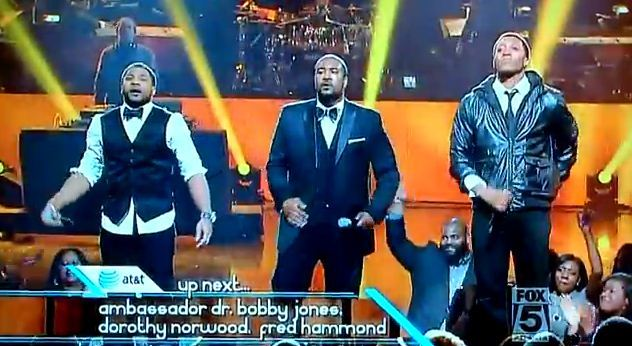 Lecrae, Da TRUTH and Canton Jones at 2012 Stellar Awards - God is good - Video capture