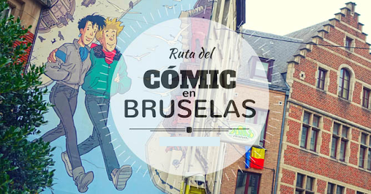 BRUSELAS. RUTA DEL COMIC