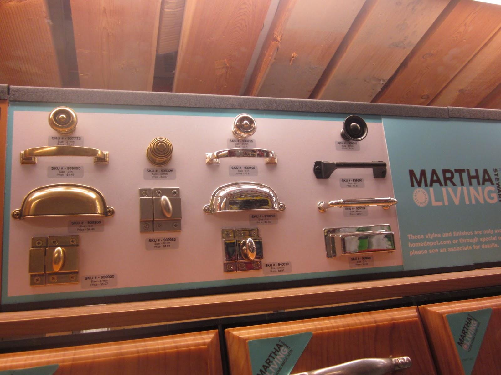 Picket Fence Design: Martha Stewart Hardware - A Good Thing