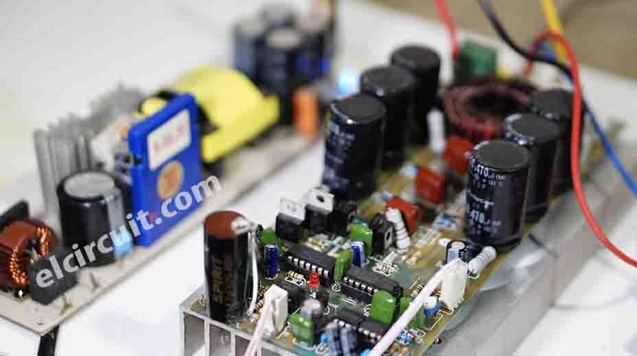 Power Supply Amplifier Class D : high power class d amplifier d4k5 electronic circuit ~ Hamham.info Haus und Dekorationen