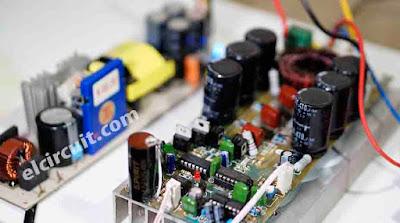 Amplificador Classe D de alta potência D4K5 3