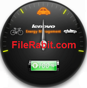 Lenovo Energy Management Main Screen